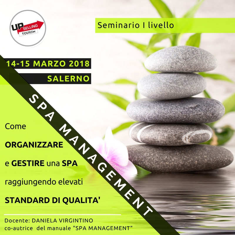 Seminario Spa Management - Upselling Tourism